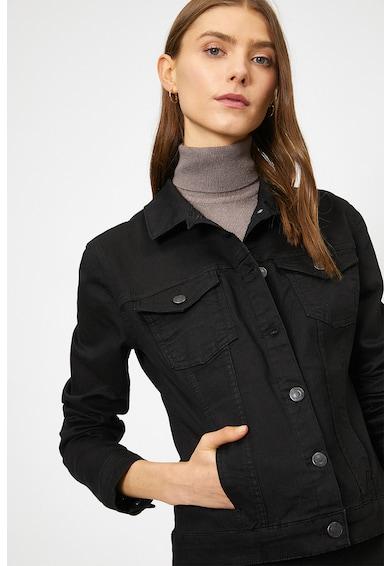 KOTON Дънково яке с джоб на гърдите Жени