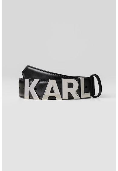 Karl Lagerfeld Кожен колан с метално лого Жени