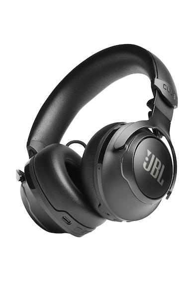 JBL Casti audio on-ear  Club 700BT, Hi-Res, Bass boost, Dj presets, 50H, Ambient Aware, TalkThru, Dual mic, Google Assistant & Alexa built-in, Negru Femei