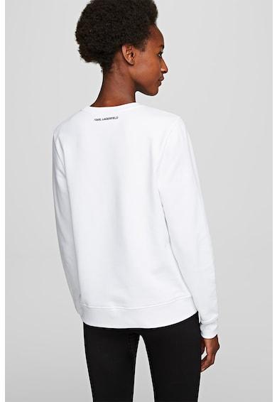 Karl Lagerfeld Bluza sport cu imprimeu logo Femei