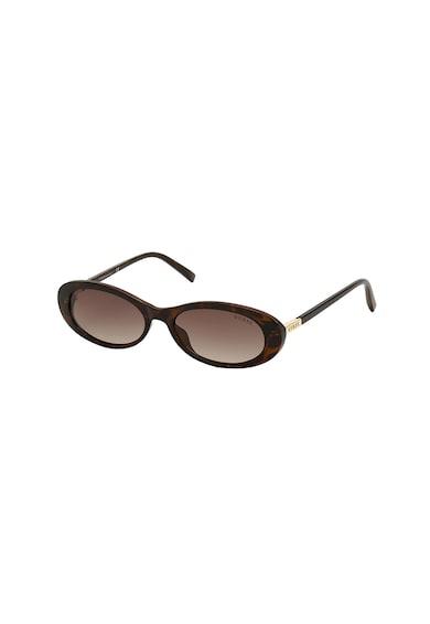 Guess Ochelari de soare ovali cu lentile in degrade Femei