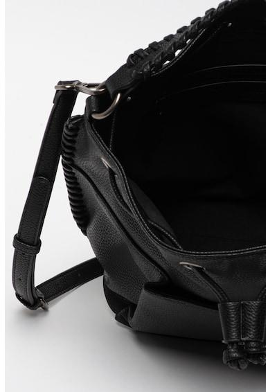 Pepe Jeans London Geanta bucket de piele ecologica Braid Femei
