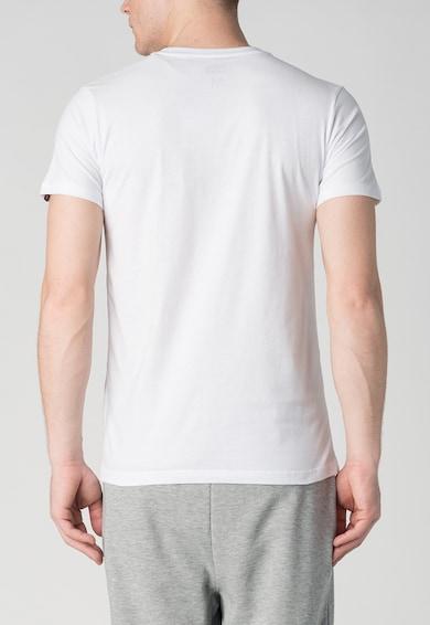 Onitsuka Tiger White Printed T-Shirt Мъже