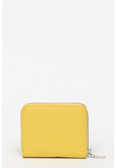 Guess Portofel de piele ecologica, cu aplicatie logo metalica Lias Femei