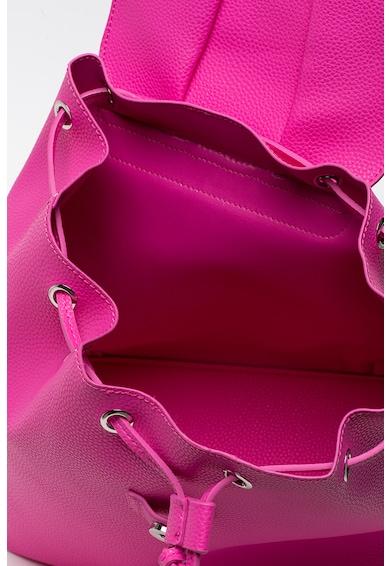 Tosca Blu Rucsac de piele ecologica, cu accesoriu decorativ Menta Femei