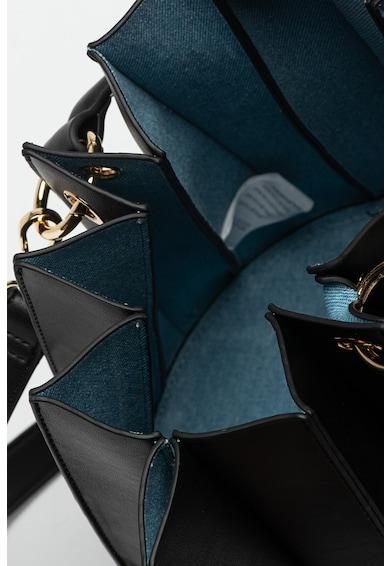 Tosca Blu Geanta bucket de piele ecologica Lilla Femei