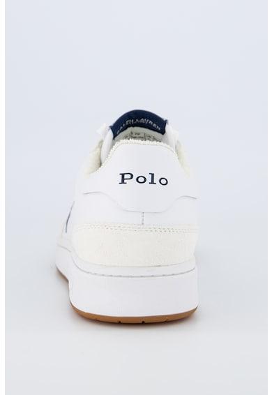 Polo Ralph Lauren Pantofi sport de piele ecologica, cu garnituri de piele intoarsa Polo Barbati