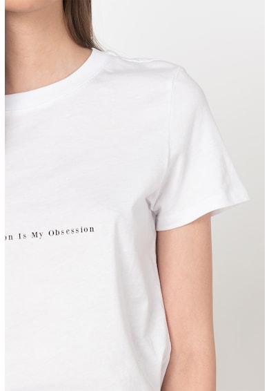 NA-KD Tricou cu imprimeu text Femei