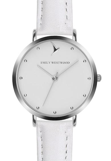 Emily Westwood Ceas analog cu o curea de piele Femei
