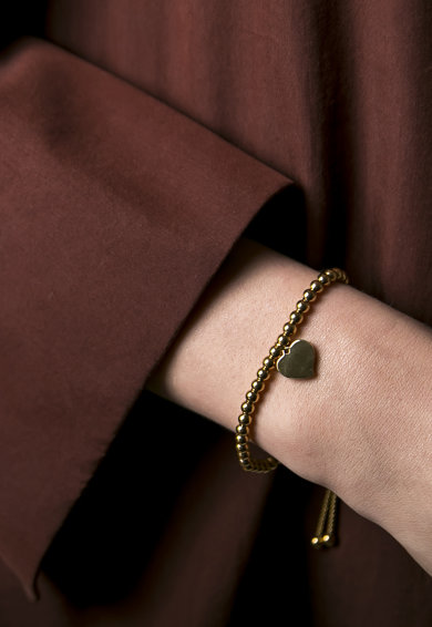 Victoria Walls Bratara cu talisman in forma de inima Stuyvesant Femei