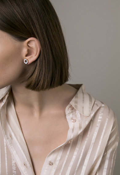 Victoria Walls Rozsdamentes acél fülbevaló női