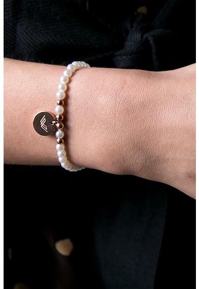 Victoria Walls Set de cercei si bratara de perle sintetice Femei