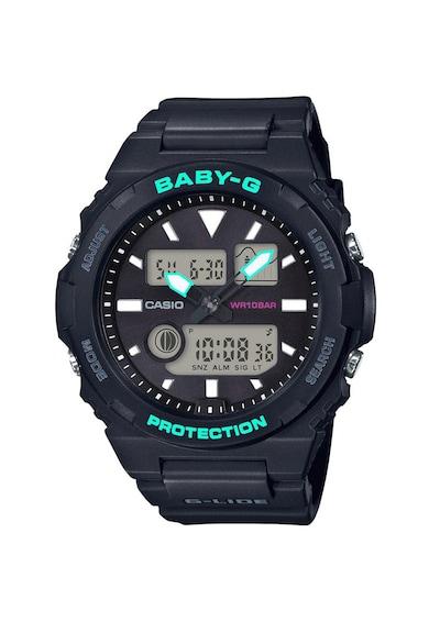Casio Ceas cronograf rezistent la socuri Baby-G BAX-100 Barbati