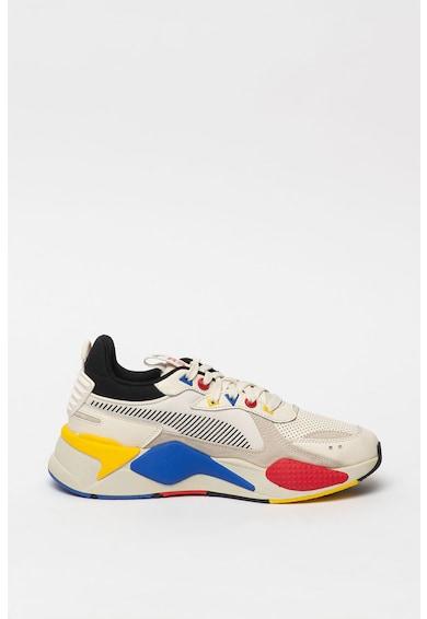 Puma Кожени спортни обувки Rs-x с текстил Жени
