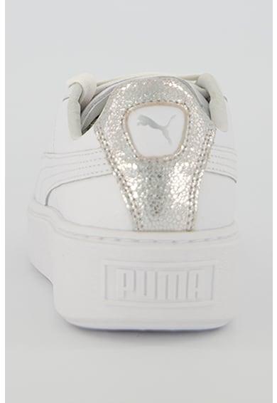 Puma Кожени спортни обувки Basket Жени