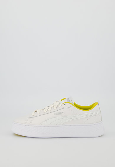 Puma Кожени спортни обувки Smash Жени