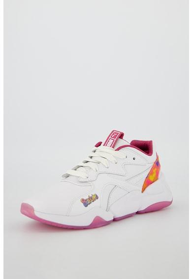 Puma Кожени спортни обувки Nova x Barbie Жени