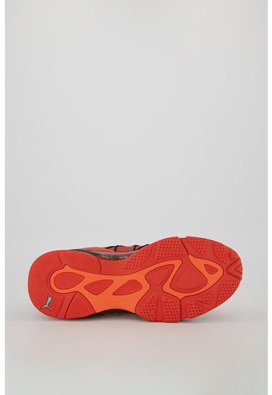 Puma Pantofi sport cu insertii din piele intoarsa LQD Cell Omega Manga Barbati