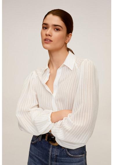 Mango Риза Adriana с буфан ръкави Жени