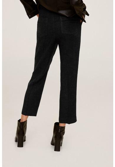 Mango Панталон Lana със стеснен крачол Жени