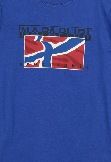 Napapijri Tricou cu imprimeu logo Sallyn Baieti
