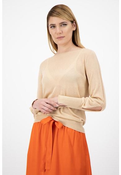 Stefanel Pulover tricotat fin, cu decupaje Femei