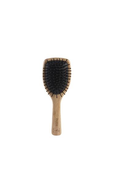 Parsa Beauty Perie de par din lemn de bambus Parsa, Profi FSC cu peri din plastic, mica Femei