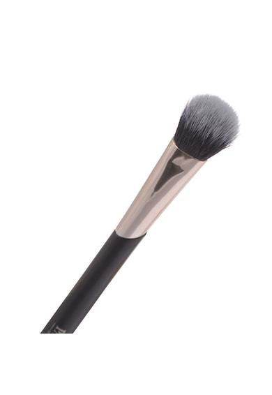 Parsa Beauty Pensula dubla  pentru smokey eyes, Negru Femei