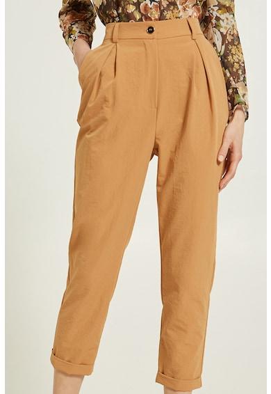 Motivi Pantaloni capri cu talie inalta Femei