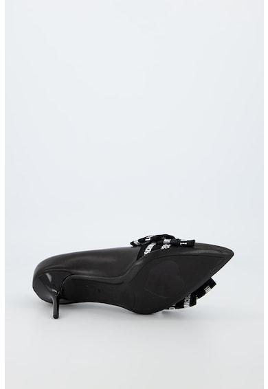 Love Moschino Pantofi din piele cu toc stiletto Femei