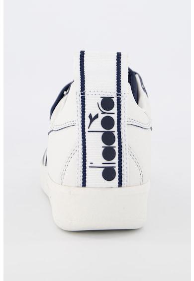 Diadora Pantofi sport unisex de piele ecologica, cu garnituri contrastante Femei