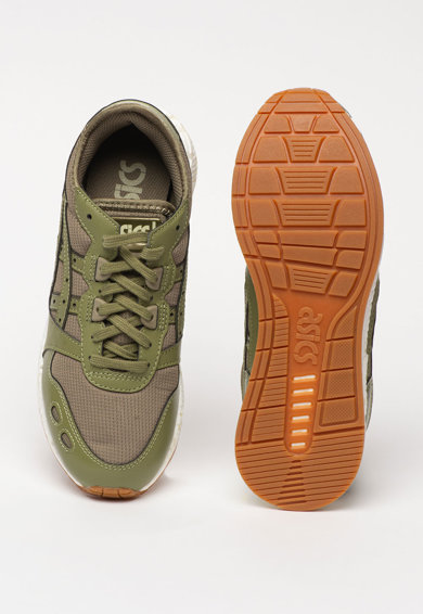 Asics Pantofi sport unisex din material textil si piele ecologica HyperGEL-LYTE Barbati