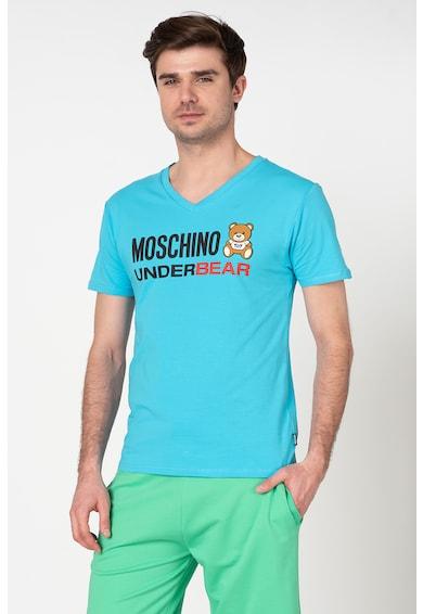 Moschino Tricou de casa cu imprimeu logo Barbati
