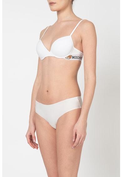 Moschino Sutien push-up cu garnituri cu logo Femei