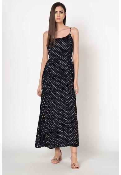 Banana Republic Дълга плисирана рокля с тънки презрамки Жени