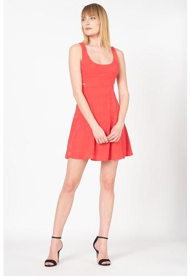 GUESS JEANS Къса рокля с овално деколте Жени