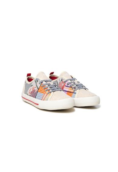 DESIGUAL Pantofi sport cu broderie florala Femei