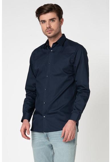 Jack&Jones Памучна риза по тялото Мъже