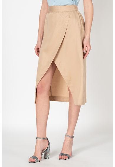 Vero Moda Fusta din lyocell cu model petrecut Katelin Femei