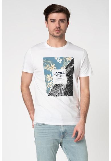 Jack&Jones Tricou regular fit cu imprimeu grafic Tropic Barbati