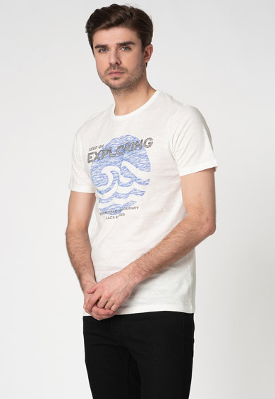 Jack&Jones Tricou slim fit cu imprimeu text Creator Barbati