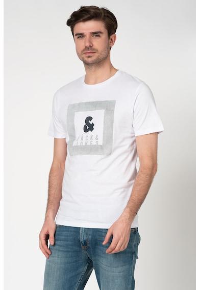 Jack&Jones Tricou slim fit cu imprimeu logo Sead Barbati