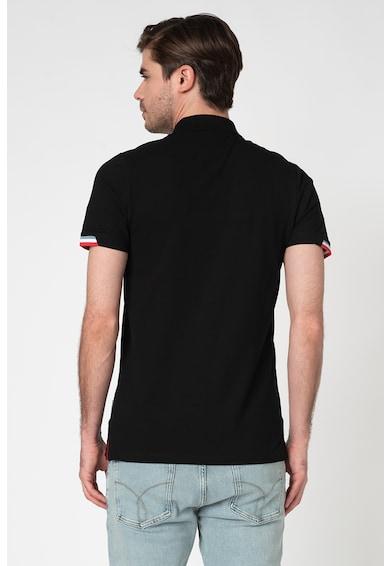 Jack&Jones Tricou polo slim fit cu aplicatie logo Spring Barbati