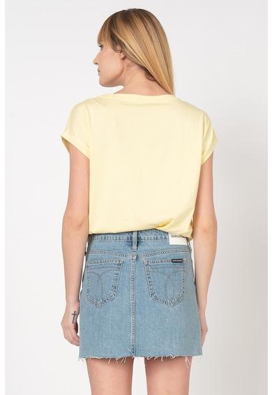 Esprit Tricou din amestec de modal cu imprimeu cu buline Femei