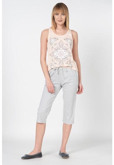 Triumph Pijama din bumbac cu model floral Femei