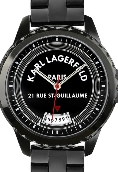 Karl Lagerfeld Ceas quartz cu bratara de otel inoxidabil Rue St. Guillaume Femei