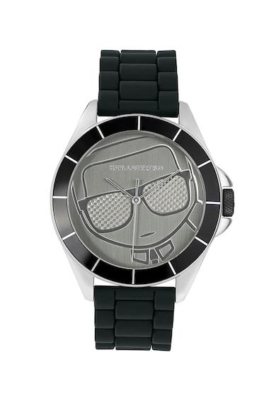 Karl Lagerfeld Ceas analog cu detalii texturate Barbati