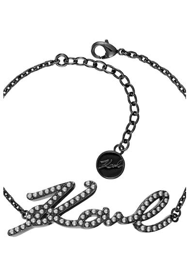 Karl Lagerfeld Bratara cu detaliu logo Femei
