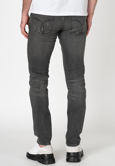 Calvin Klein Jeans Blugi slim fit cu croiala dreapta Barbati