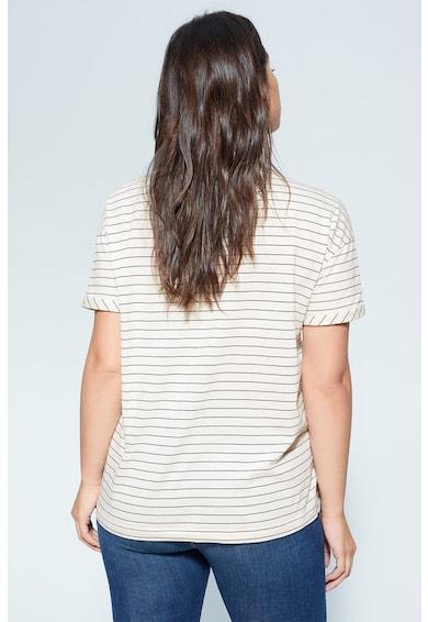 VIOLETA BY MANGO Тениска Easy от органичен памук Жени